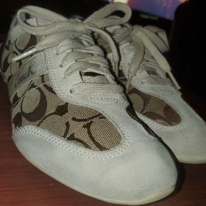 Coach Sneakers Size 7 Womens Shoes